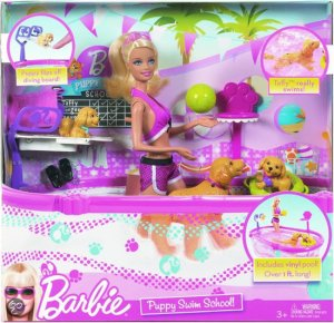 Barbie Puppie Swim School