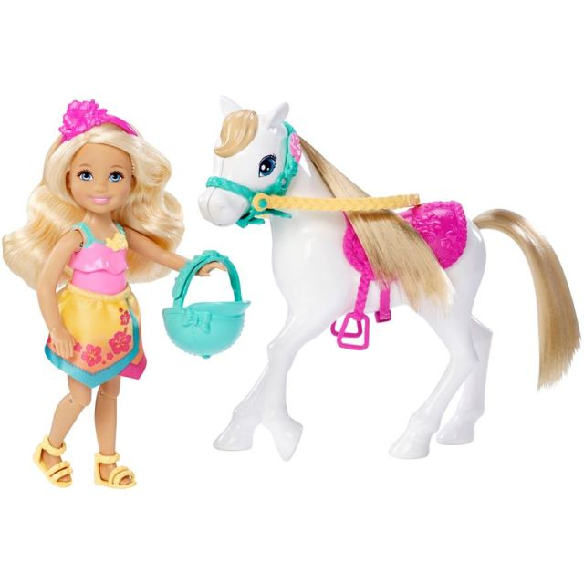 Barbie Puppy Chase Chelsea Doll & Horse