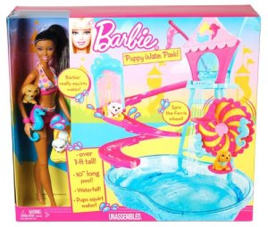 Barbie Puppy Water Park Nicki Doll Playset