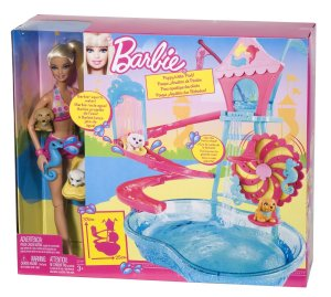 Barbie Puppy Water Park Playset n