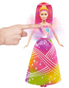 Barbie Rainbow Princess Lights and Sounds Doll 2