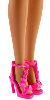 Barbie Rainbow Princess Lights and Sounds Doll shoes