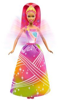 Barbie Rainbow Princess Lights and Sounds Doll3