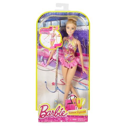 Barbie Ribbon Gymnast blonde NRFB