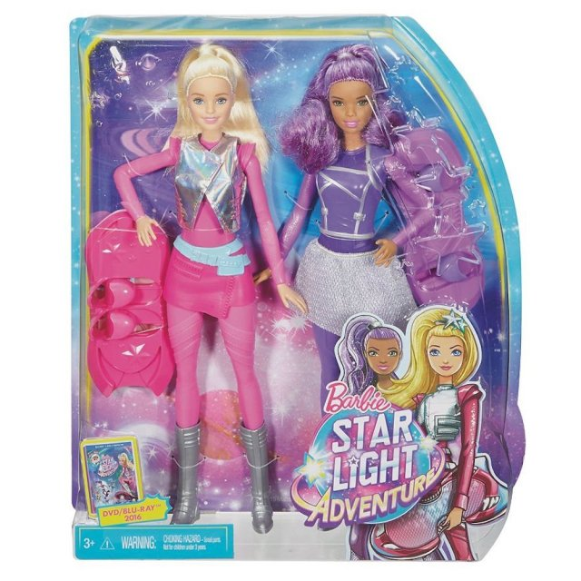 barbie-sal-lee-star-light-adventure-dolls-with-two-hoverboards-nrfb