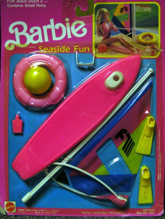 Barbie Seaside Fun Playset 1990