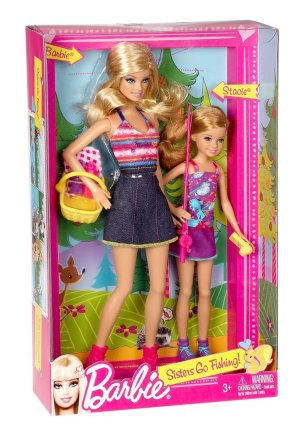Barbie Sisters Go Fishing Barbie And Stacie Doll n