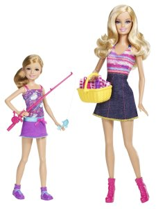 Barbie Sisters Go Fishing Barbie And Stacie Doll