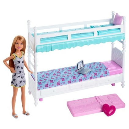 Barbie Sisters Stacie Doll with Bunk Beds Giftset