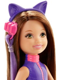 Barbie Spy Squad Junior Agent Doll, Purple face