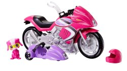 Barbie Spy Squad Secret Agent Motorcycle complete set