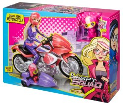 Barbie Spy Squad Secret Agent Motorcycle nrfb