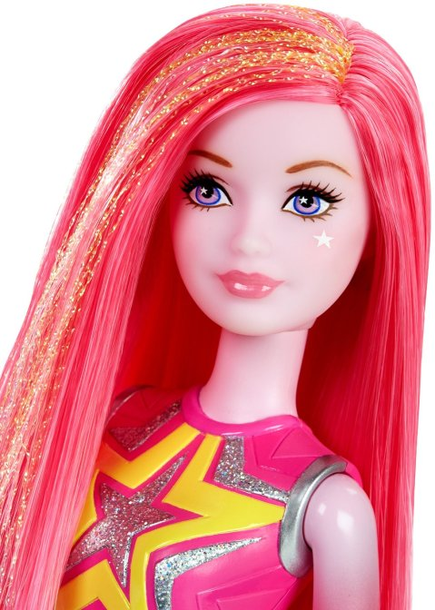 Barbie Star Light Adventure Co-Star Doll, Pink face