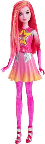 Barbie Star Light Adventure Co-Star Doll, Pink flyer