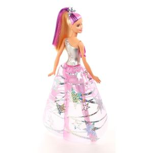 Barbie Star Light Adventure Doll back