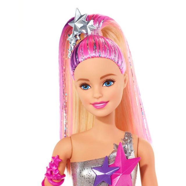 Barbie Star Light Adventure Doll face