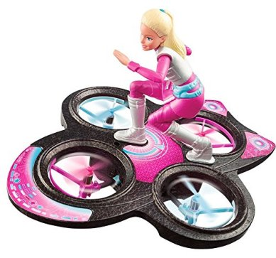 Barbie Star Light Adventure Flying RC Hoverboard Doll flyer