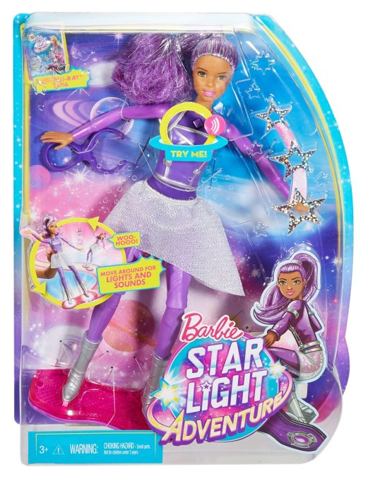 Barbie Star Light Adventure Lights & Sounds Hoverboarder nrfb