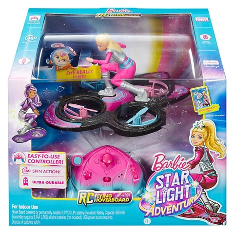 Barbie Star Light Hoverboard Doll NRFB
