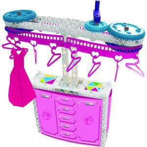 Barbie STEM Fashion Closet Rack and Home Inventions with Barbie Doll flyer