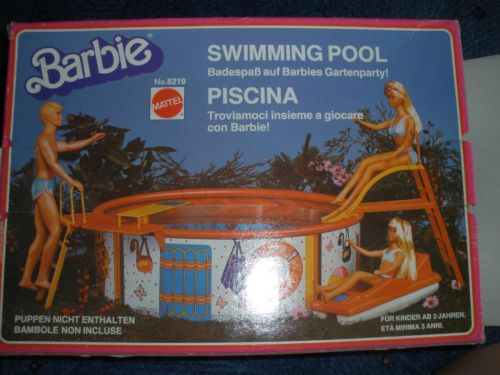 Barbie Swimming Pool,