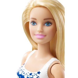 Barbie USA Beach Doll blonde face