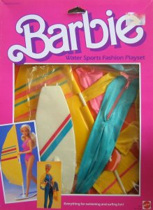Barbie Water Sports Fashion Playset - Swimming & Surfing Fun