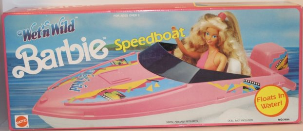 Barbie Wet'n'Wild Speedboat NRFB