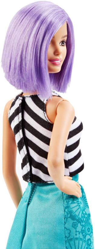 Barbie® Fashionistas™ Doll 18 Va-Va-Violet - Original back