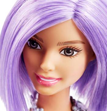 Barbie® Fashionistas™ Doll 18 Va-Va-Violet - Original face