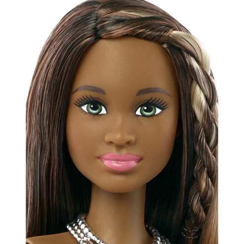 Barbie® Fashionistas™ Doll 21 Pretty in Python - Original face front