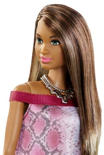 Barbie® Fashionistas™ Doll 21 Pretty in Python - Original face