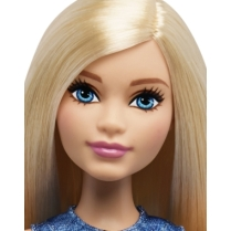 Barbie® Fashionistas™ Doll 22 Chambray Chic - Curvy face
