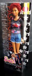 Barbie® Fashionistas™ Doll Fab Fringe - Tall nrfb