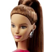 Barbie® Pink & Fabulous™ Doll - Brunette face