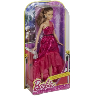 Barbie® Pink & Fabulous™ Doll - Brunette NRFB