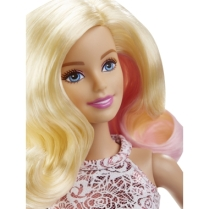 Barbie® Pink & Fabulous™ Doll face