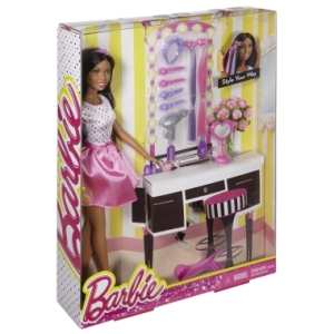 Barbie® Style Your Way Doll & Playset nrfb