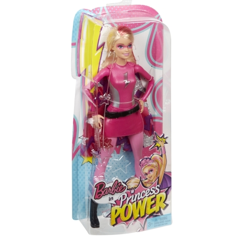 Barbie™ in Princess Power™ Hero Fashion Doll NRFB