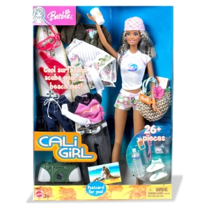 Cali Girl Barbie Fashion Gift Set n