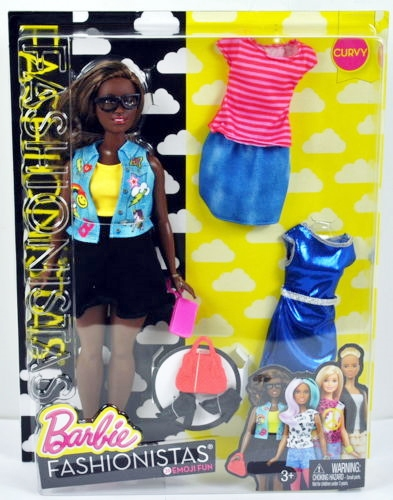 Emoji Fun Doll & Fashions – Curvy NRFB