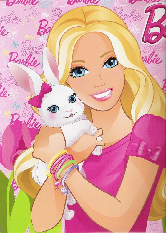Happy Easter from Barbie
