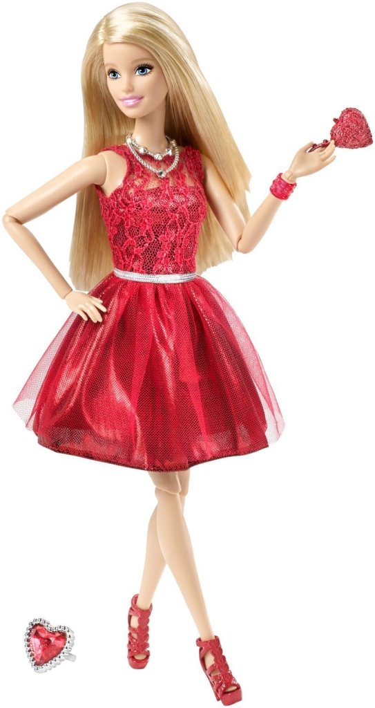 January Birthstone Barbie