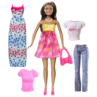 Keepsake Barbie® Doll & Fashions Gift Pack - Fab Floral