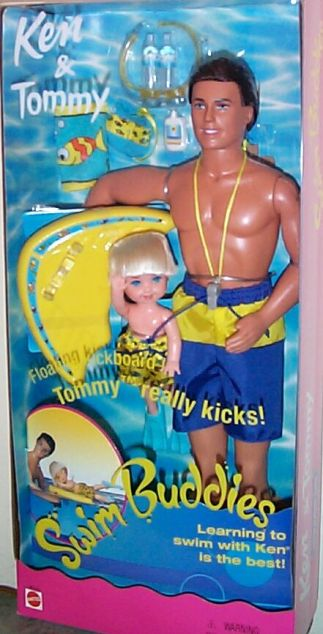 Ken & Tommy Swim Buddies