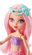 Mini Mermaid Doll, Candy Fashion. face