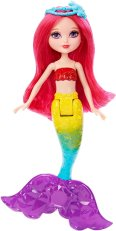 Mini Mermaid Doll, Rainbow Fashion