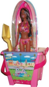 Nikki Beach Party Exclusive Doll Bucket Set with Surf board.
