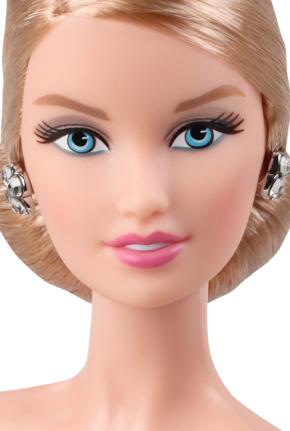 Oscar de la Renta Barbie® Doll face
