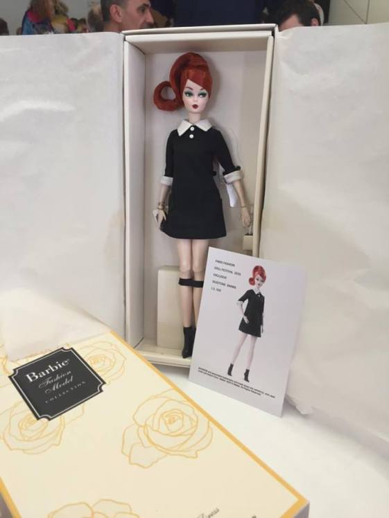 Paris Fashion Doll festival 2016 convention doll!